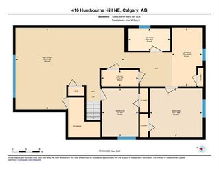Photo 30: 416 HUNTBOURNE Hill NE in Calgary: Huntington Hills Detached for sale : MLS®# C4299383