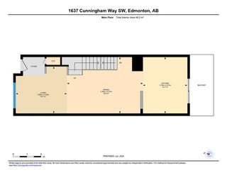 Photo 35: 1637 CUNNINGHAM Way in Edmonton: Zone 55 Townhouse for sale : MLS®# E4204804