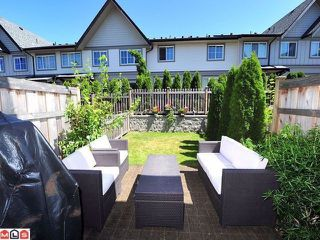 """Main Photo: 110 2501 161A Street in Surrey: Grandview Surrey Townhouse for sale in """"HIGHLAND"""" (South Surrey White Rock)  : MLS®# F1304747"""