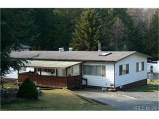 Photo 1: C17 920 Whittaker Road in MALAHAT: ML Malahat Proper Manu Double-Wide for sale (Malahat & Area)  : MLS®# 244212