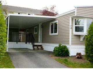 Photo 1: # 74 1840 160 ST in Surrey: King George Corridor House for sale (South Surrey White Rock)  : MLS®# F1417243