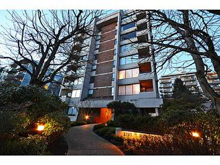 Photo 1: # 602 1737 DUCHESS AV in West Vancouver: Ambleside Condo for sale : MLS®# V1043637