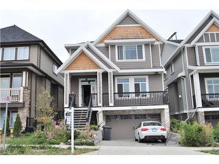Photo 1: 3433 GISLASON AV in Coquitlam: Burke Mountain House for sale : MLS®# V1081995