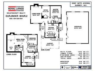 Photo 16: 12097 56 AV in Surrey: Panorama Ridge House for sale : MLS®# F1443114