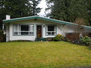 "Main Photo: 34305 WOODBINE in Abbotsford: Central Abbotsford House for sale in ""Woodbine"" : MLS®# F1302680"