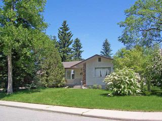 Main Photo: 158 ROSERY Drive NW in CALGARY: Rosemont Residential Detached Single Family for sale (Calgary)  : MLS®# C3581745