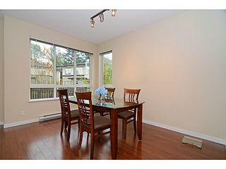Photo 7: # 22 1125 KENSAL PL in Coquitlam: New Horizons Townhouse for sale : MLS®# V1136782