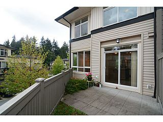 Photo 14: # 22 1125 KENSAL PL in Coquitlam: New Horizons Townhouse for sale : MLS®# V1136782