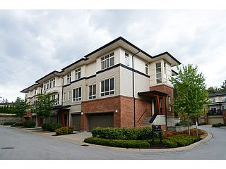 Photo 3: # 22 1125 KENSAL PL in Coquitlam: New Horizons Townhouse for sale : MLS®# V1136782