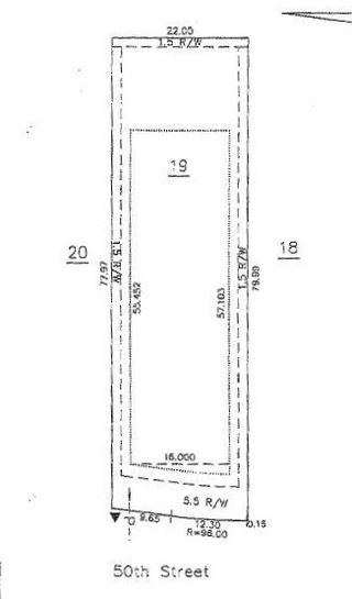 Photo 1: 3729 50 Street: Gibbons Vacant Lot for sale : MLS®# E4206085