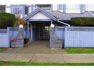 "Photo 1: 102 8633 S.W MARINE Drive in Vancouver: Marpole Condo for sale in ""SOUTH BEND"" (Vancouver West)  : MLS®# V989221"
