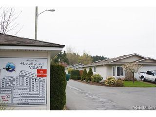 Photo 20: 97 7570 Tetayut Rd in SAANICHTON: CS Hawthorne Manufactured Home for sale (Central Saanich)  : MLS®# 636903