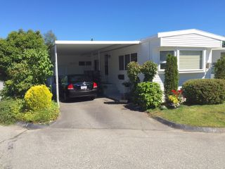 Photo 1: 226 1840 160 STREET in Surrey: King George Corridor Manufactured Home for sale (South Surrey White Rock)  : MLS®# R2105226