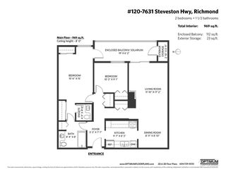 "Photo 33: 120 7631 STEVESTON Highway in Richmond: Broadmoor Condo for sale in ""ADMIRAL'S WALK"" : MLS®# R2496435"