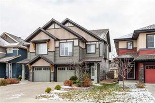 Photo 1: 4693 CRABAPPLE Run in Edmonton: Zone 53 House Half Duplex for sale : MLS®# E4219040