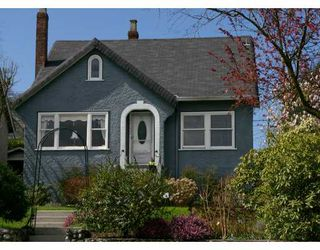 Photo 1: 4757 BLENHEIM ST in Vancouver: Dunbar House for sale (Vancouver West)  : MLS®# V584316