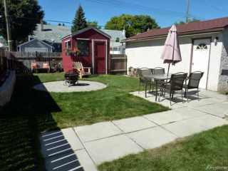 Photo 12: 470 Radford Street in WINNIPEG: North End Residential for sale (North West Winnipeg)  : MLS®# 1319251