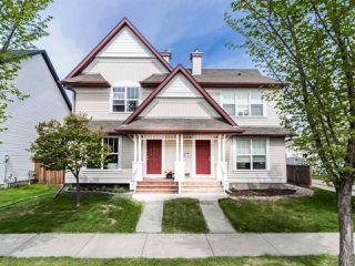 Main Photo: 5920 SOUTH TERWILLEGAR Boulevard in Edmonton: Zone 14 House Half Duplex for sale : MLS®# E4199448