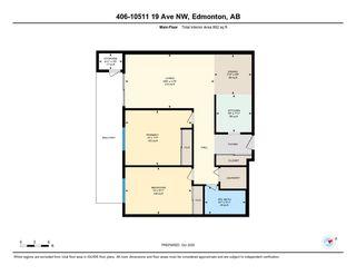 Photo 40: 406 10511 19 Avenue in Edmonton: Zone 16 Condo for sale : MLS®# E4217477