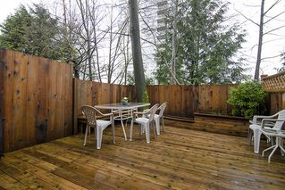 "Photo 11: 249 BALMORAL PL in Port Moody: North Shore Pt Moody Townhouse for sale in ""BALMORAL PLACE"" : MLS®# V987932"