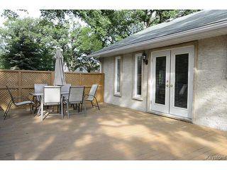 Photo 17: 343 Winchester Street in WINNIPEG: St James Residential for sale (West Winnipeg)  : MLS®# 1319621