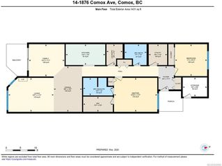 Photo 4: 14 1876 Comox Ave in COMOX: CV Comox (Town of) Condo for sale (Comox Valley)  : MLS®# 845695