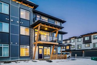 Main Photo: 4345 Seton Drive SE in Calgary: Seton Row/Townhouse for sale : MLS®# A1052338