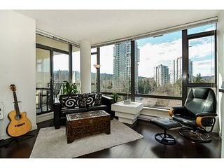 Photo 3: # 605 400 CAPILANO RD in Port Moody: Port Moody Centre Condo for sale : MLS®# V1046135