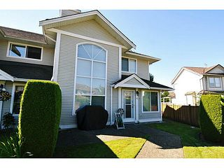 """Photo 1: 4 1370 RIVERWOOD Gate in Port Coquitlam: Riverwood Townhouse for sale in """"ADDINGTON GATE"""" : MLS®# V1074048"""