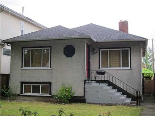 Photo 1: 1349 E 24TH Avenue in Vancouver: Knight House for sale (Vancouver East)  : MLS®# V1078708