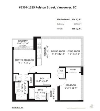 Photo 20: 2307 1325 ROLSTON STREET in Vancouver: Downtown VW Condo for sale (Vancouver West)  : MLS®# R2265573