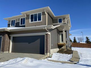 Photo 1: 74 JUNEAU Way NW: St. Albert House Half Duplex for sale : MLS®# E4190635