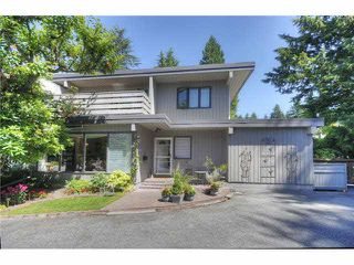 """Main Photo: 3668 EDGEMONT Boulevard in North Vancouver: Edgemont House 1/2 Duplex for sale in """"VILLAGE GREEN"""" : MLS®# V1074739"""