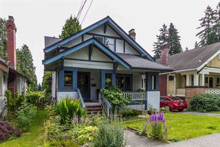 Photo 1: 605 First Street in New Westminster: House for sale : MLS®# R2108019