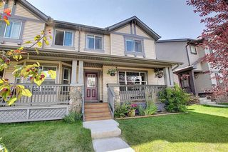 Photo 1: 294 LUXSTONE Way SW: Airdrie Semi Detached for sale : MLS®# A1019492