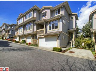 "Photo 1: 28 14959 58TH Avenue in Surrey: Sullivan Station Townhouse for sale in ""SKYLANDS"" : MLS®# F1210484"