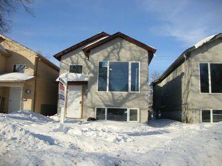 Photo 1: 482 FERRY Road in WINNIPEG: St James Residential for sale (West Winnipeg)  : MLS®# 1301693