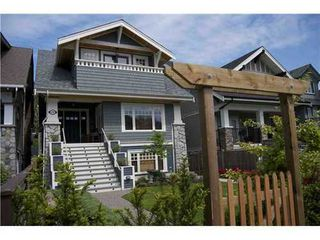 Photo 1: 3327 2ND Ave W in Vancouver West: Kitsilano Home for sale ()  : MLS®# V921793