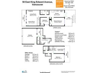Photo 18: 50 E KING EDWARD AV in Vancouver: Main House for sale (Vancouver East)  : MLS®# V1108119