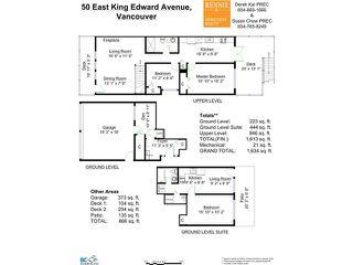 Photo 18: 50 E KING EDWARD AV in Vancouver: Main House for sale (Vancouver East)  : MLS®# V1108119