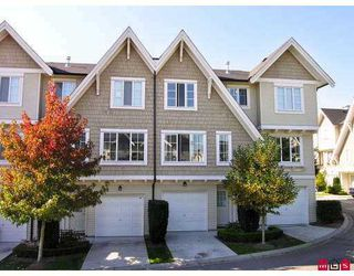 "Photo 1: 20540 66TH Ave in Langley: Willoughby Heights Townhouse  in ""Amberleigh"" : MLS®# F2622339"