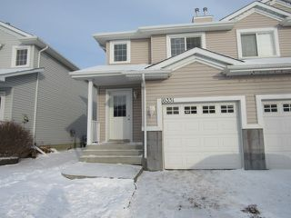 Photo 1: 16351 - 56 Street NW in Edmonton: House Duplex for rent