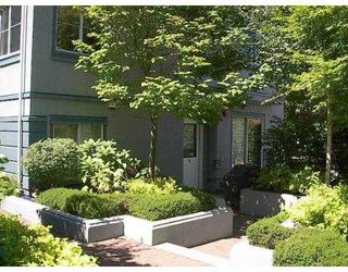 "Photo 1: 3 877 W 7TH AV in Vancouver: Fairview VW Townhouse for sale in ""EMERALD COURT"" (Vancouver West)  : MLS®# V551684"