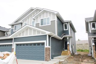 Photo 1: 851 EBBERS Crescent in Edmonton: Zone 02 House Half Duplex for sale : MLS®# E4173866