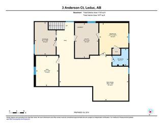 Photo 30: 3 Anderson Court: Leduc House for sale : MLS®# E4176627