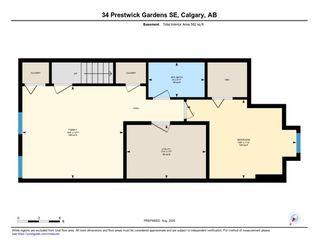 Photo 44: 34 PRESTWICK Gardens SE in Calgary: McKenzie Towne Row/Townhouse for sale : MLS®# A1026809