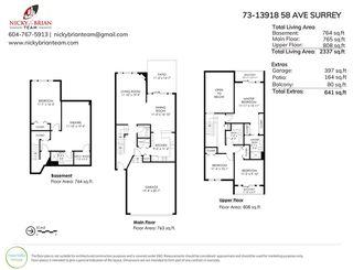 "Photo 31: 73 13918 58 Avenue in Surrey: Panorama Ridge Townhouse for sale in ""Alder Park"" : MLS®# R2508439"