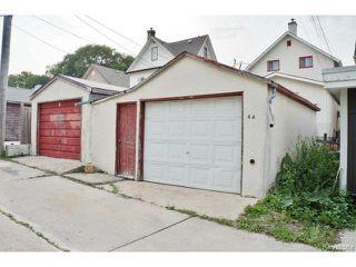 Photo 19: 46 Hallet Street in WINNIPEG: North End Residential for sale (North West Winnipeg)  : MLS®# 1419314