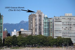 Photo 4: 2103 1850 COMOX STREET in Vancouver: West End VW Condo for sale (Vancouver West)  : MLS®# R2104794