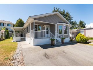 Photo 1: 57 1840 160 STREET in Surrey: King George Corridor Manufactured Home for sale (South Surrey White Rock)  : MLS®# R2283012